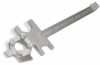 Deluxe Drum Plug Wrench - Polished Zinc Cast Steel -- DRM1019