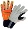 West Chester R2 Orange Small Cotton/Spandex/Fleece/Hypora Cold Condition Glove - Fleece Insulation - 662909-869029 -- 662909-869029