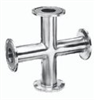 9MP7-2-304-W - Cole-Parmer, Sanitary Clamp Cross, 304L SS, 2