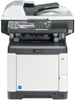 Color Multifunctional Printer - Print / Scan / Copy / Fax -- ECOSYS M6526cidn - Image