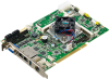 Intel® Celeron J1900/N2930 PCI Half-size SBC with DDR3L 1333/Dual GbE/m-SATA/4 RS-232/422/485 -- PCI-7032
