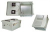 18x16x8 Inch Weatherproof Enclosure with 802.3af PoE Interface and Dual Cooling Fans -- NB181608-40FAF -Image