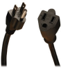 Standard Power Extension Cord, 10A, 18AWG (NEMA 5-15P to NEMA 5-15R) 15-ft. -- P022-015