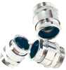 Nickel-Plated Brass Cable Clamp with PG & Metric Thread -- SKINDICHT® SVRE/SVRE-M - Image
