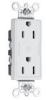 Duplex/Single Receptacle -- 26252-CDGN -- View Larger Image