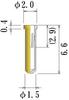 Medium Size Socket Pin -- PDK1561-65-GG -Image