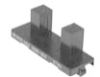 HOA1888 Series Transmissive Sensor, Transistor Output, Plastic Package -- HOA1888-011