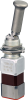 MICRO SWITCH TW Series Toggle Switch, 2 pole, 3 position, IWTS terminal, Locking Lever -- 112TW1-10A