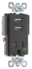 Combination Switch/Receptacle -- TR-8301USB -- View Larger Image