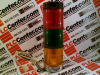 DANAHER CONTROLS SL3-240-RGA ( STACK LIGHT ASSEMBLY 240VAC RED/GREEN/AMBER ) - Image