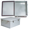 14x12x6 Inch Weatherproof NEMA Steel Enclosure -- NBS141206 -Image