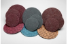 3M Scotch-Brite Coated A/O Aluminum Oxide AO Hook & Loop Discs - 7 in Diameter - 77141 -- 076308-77141