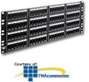 ICC Cat 5e Patch Panel - 96 Ports/4 RMS -- ICMPP0965E
