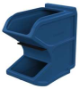 Gravity Hopper Bin,W 8-1/4 x D 18,Blue -- 6GDN8