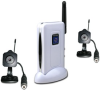 2 Mini Wireless Camera System with Stand-up Receiver