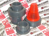 CHECK VALVE 2-1/2INCH PVC SCHECK THREAD EPDM -- CPX22071