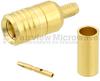 SMB Plug (Male) Connector For 0.100 inch, RG316, RG174, RG188, LMR-100, LMR-100A, LMR-100A-FR Cable, Crimp/Solder