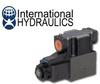 Hydraulic Solenoid Valve - 12 VDC - D03 4W2P Offset Closed -- IH-D03S-1A-12D-35
