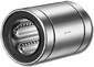 Linear Ball Bushing Bearing - NB Systems 1/4 inch Ball Bushings, Standard, Stainless Steel, Non Self-Aligning, Without Seal, Precision -- SW4-P