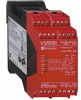 SAFETY RELAY, OUTPUTS: 3; AUX: 1 RELAY,4 SOLID STATE, LIGHT CURTAIN, 24VAC/DC -- 70008209