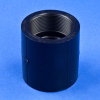 Black Polypropylene Straight Couplings -- 32107 - Image