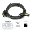 15ft DVI-I(24+5)-Male & USB2.0 A/B KVM Cable -- 1902-SF-22 - Image