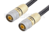 75 Ohm N Male to 75 Ohm N Male Cable 60 cm Length Using 75 Ohm Armored Test Coax, RoHS -- PE3CA1032-60CM -Image