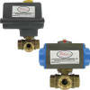 DWYER 3ABV1V1103 ( SERIES 3ABV AUTOMATED BALL VALVES - 3 - WAY BRASS NPT ) -Image