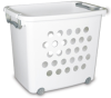 Large Ultra Wheeled Stacking Basket-S1282 -- S1282