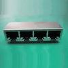 Input-Output Connectors, Modular Jack Series, Modular Jack, Multiple Port, # Contacts/ Port (Loaded)=32 -- 10118062-1001010LF - Image