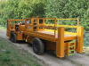 High Mobility Underground Scissor Lift Carrier -- SL-LP12 Scissorlift Vehicle - Image
