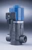 Two-Way, Direct-Lift PVC Solenoid Valve, 1/4
