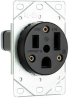 Straight Blade Power Receptacle -- 3804