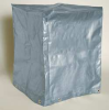 Tarp,5-Sided,18 x 18 x 24In,Silver/Black -- 3YZT3 - Image