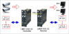 Digitally-Encoded Two Channel Video Multiplexer with Two Bi-directional Contact Closure Channels -- MODEL LMDT/DR-2V2C/2C