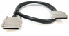 3ft 0.8 mm/0.8 mm VHDCI 0.8mm SCSI Cable, Offset -- H814-03