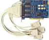 PCI 4-Port RS-232, RS-422, RS-485 Serial Interface -- 7404