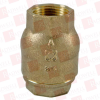 NIBCO T-480-1 ( NIBCO, T-480-1, T4801, CHECK VALVE THREADED BRONZE 1IN 250PSI ) -Image