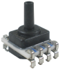 TruStability™ SSC Series-Standard Accuracy, digital SPI, SMT LN: single axial barbless port, gage, 0 psi to 5 psi, 3.3 Vdc, dry gases only, diagnostics on -- SSCMLND005PGSA3 -Image