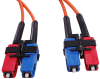 Multimode Duplex Fiber Optic Cable, 62.5/125, 1310nm, SC-SC Connectors -- 2ZR6BB-X - Image