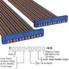 Rectangular Cable Assemblies -- C3DDG-6018M-ND -Image