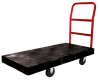 Black Rubbermaid® HD Platform Truck -- 7332 - Image