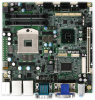 WMIX-QM570 - Mini-ITX Motherboard with Socket G1 (rPGA989) for Intel Mobile Core i7 / i5 Mobile Processors -- 2808270