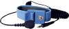 Elastic Adjustable Blue Wrist Strap w/ 6 Coil Cord -- SP7922 - Image