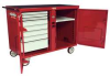 Rolling Work Bench,46-1/4 x25x37-1/2,Red -- 13R505