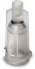 Fisnar 5601427 Syringe Barrel Tip Cap Clear (BULK) -- 5601427
