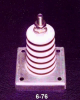 Porcelain Corrugated Base Insulators -- 6-76-Image