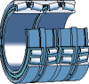 Tapered Roller Bearings, Four-row - BT4B 334011 -- 134491006 -Image