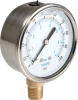 200 PSI Liquid Filled Gauge -- 8214348 -- View Larger Image