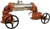 Stainless Steel Double Check Valve Assemblies for High Flow Fire Systems -- Series M200Na